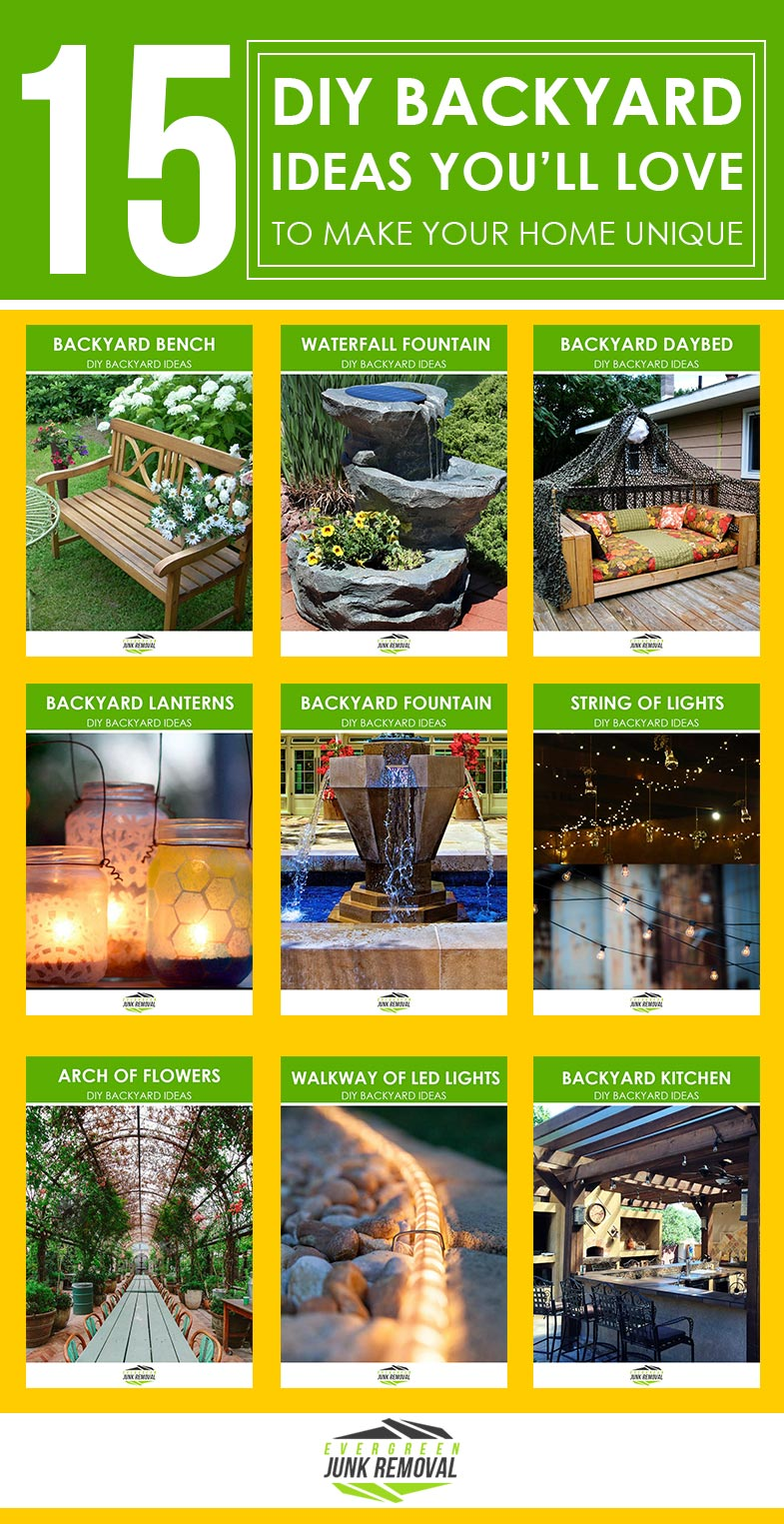 15 DIY Backyard Ideas