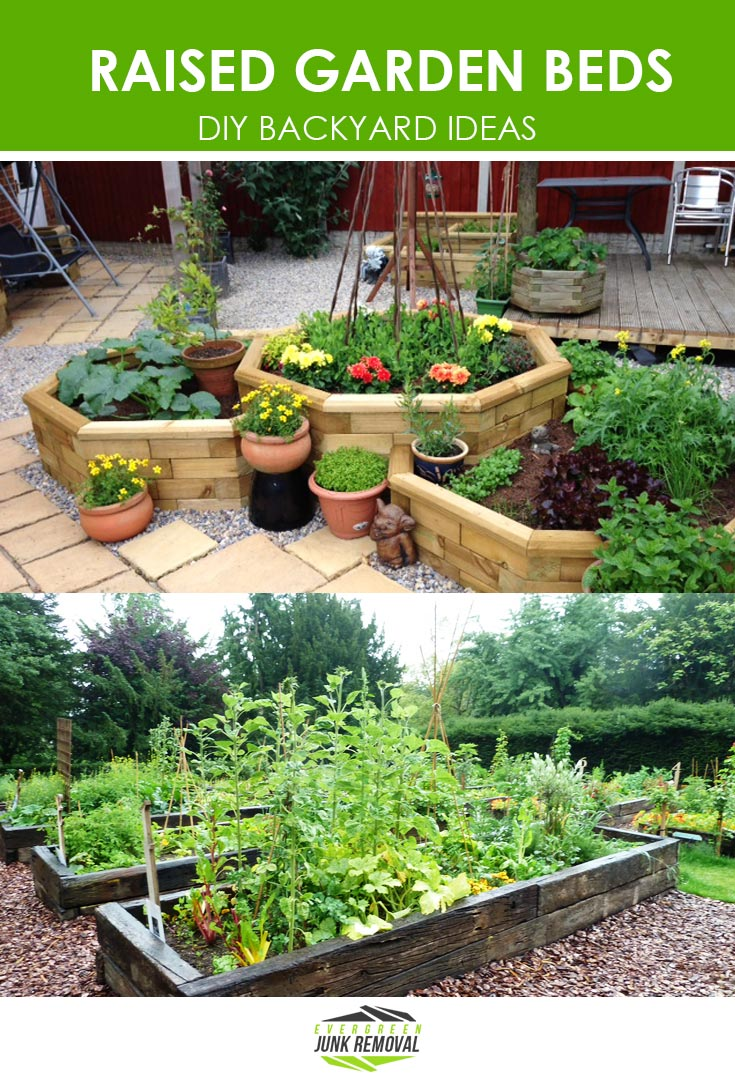 DIY Backyard Ideas - Raised Garden Beds