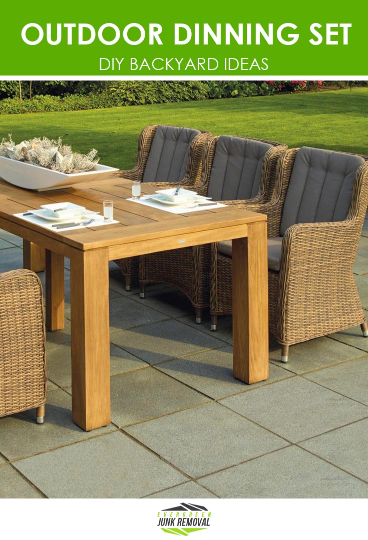 Dining Set - Backyard Ideas