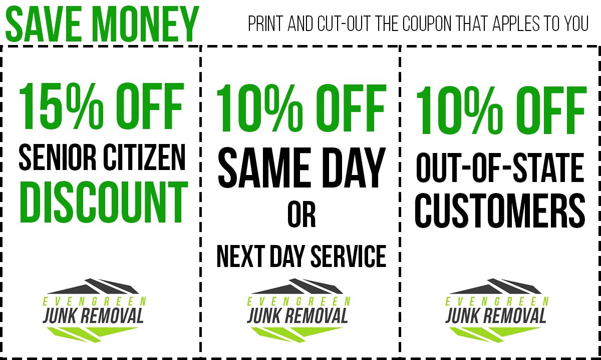 Evergreen Junk Removal Coupon