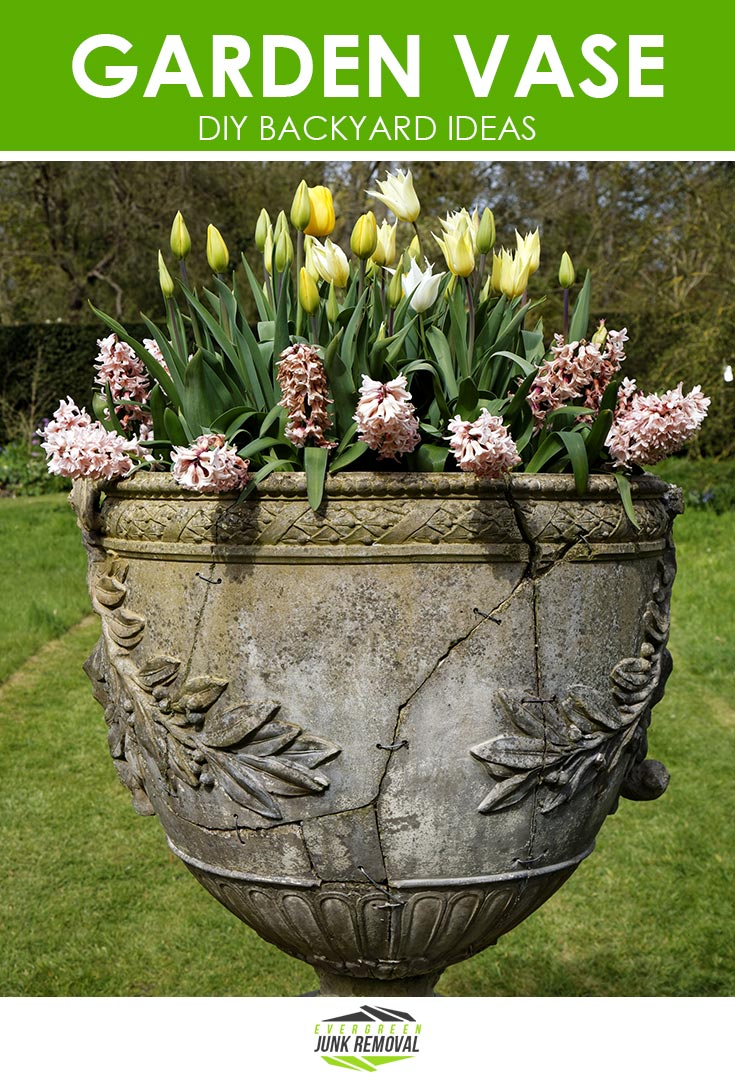 Garden Vase - Backyard Ideas