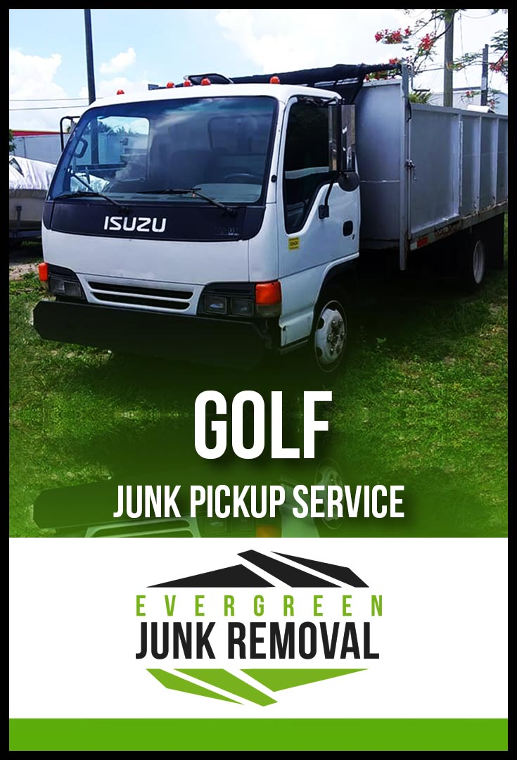 Golf Trash Pick Up Service