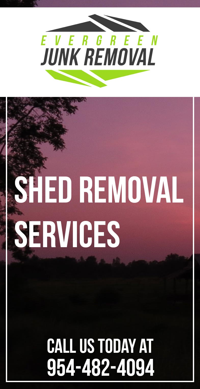 Shed Removal Services Company