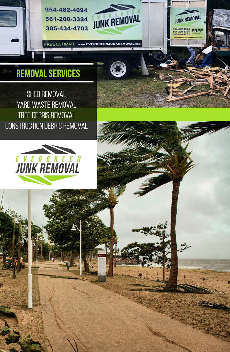 Pompano Beach Tree Debris Removal