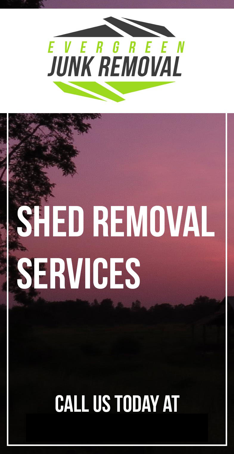 Cooper City FL Shed Removal