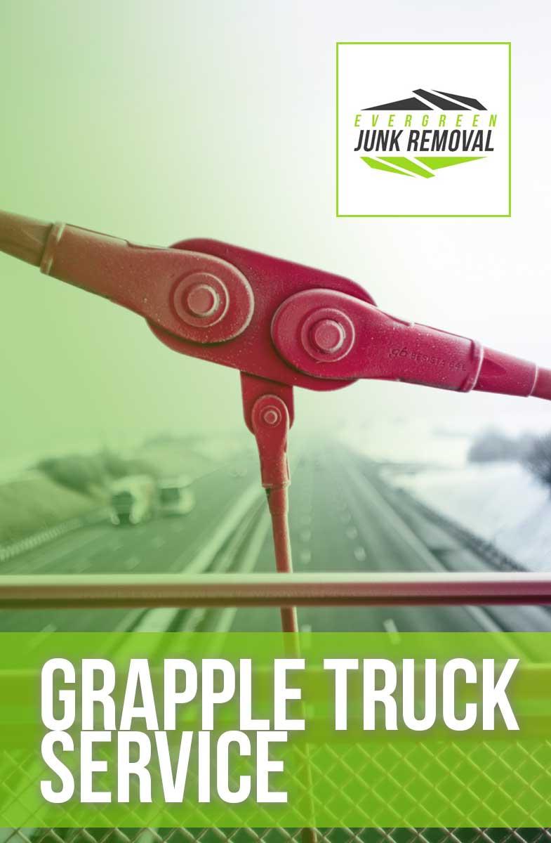 Grapple Dump Truck Services Miami
