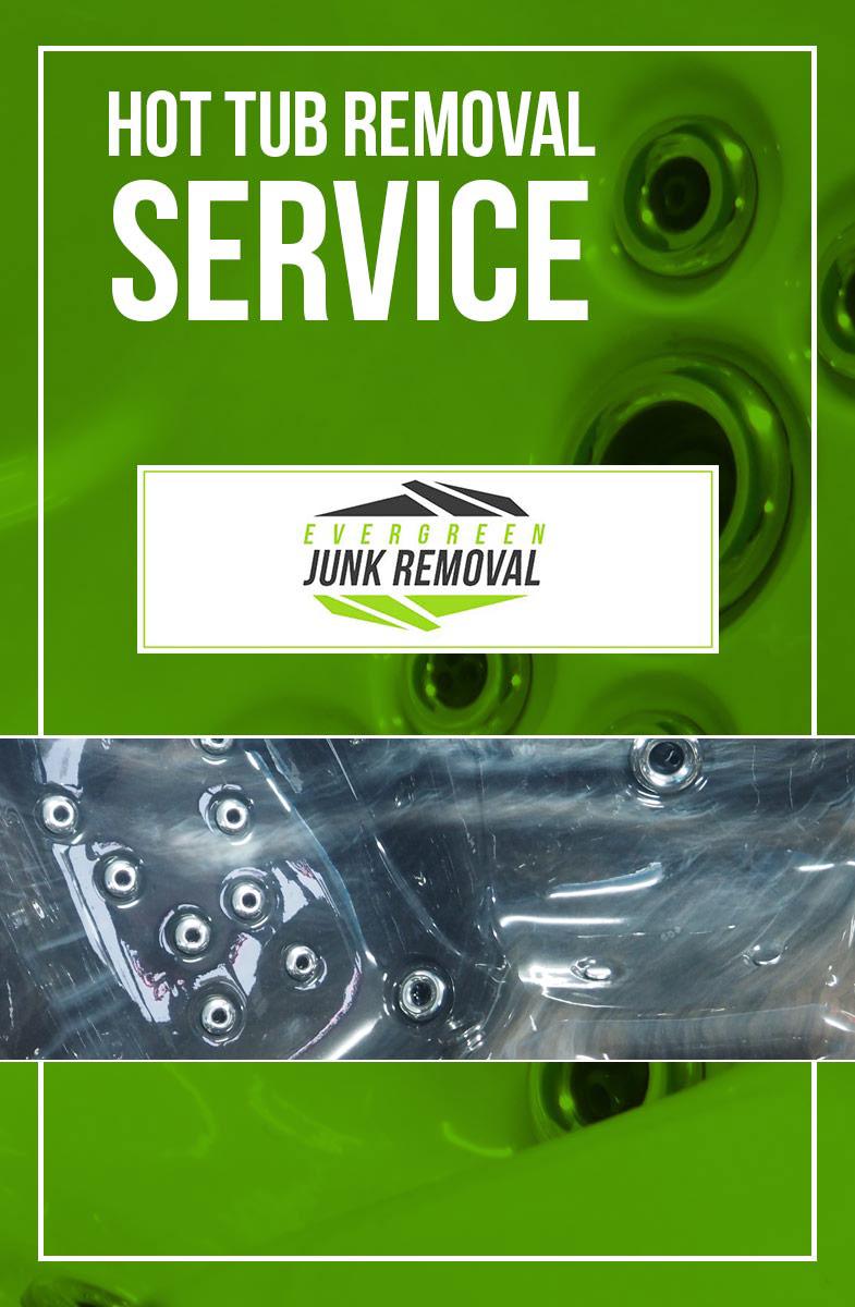 Center Hill Hot Tub Removal Service