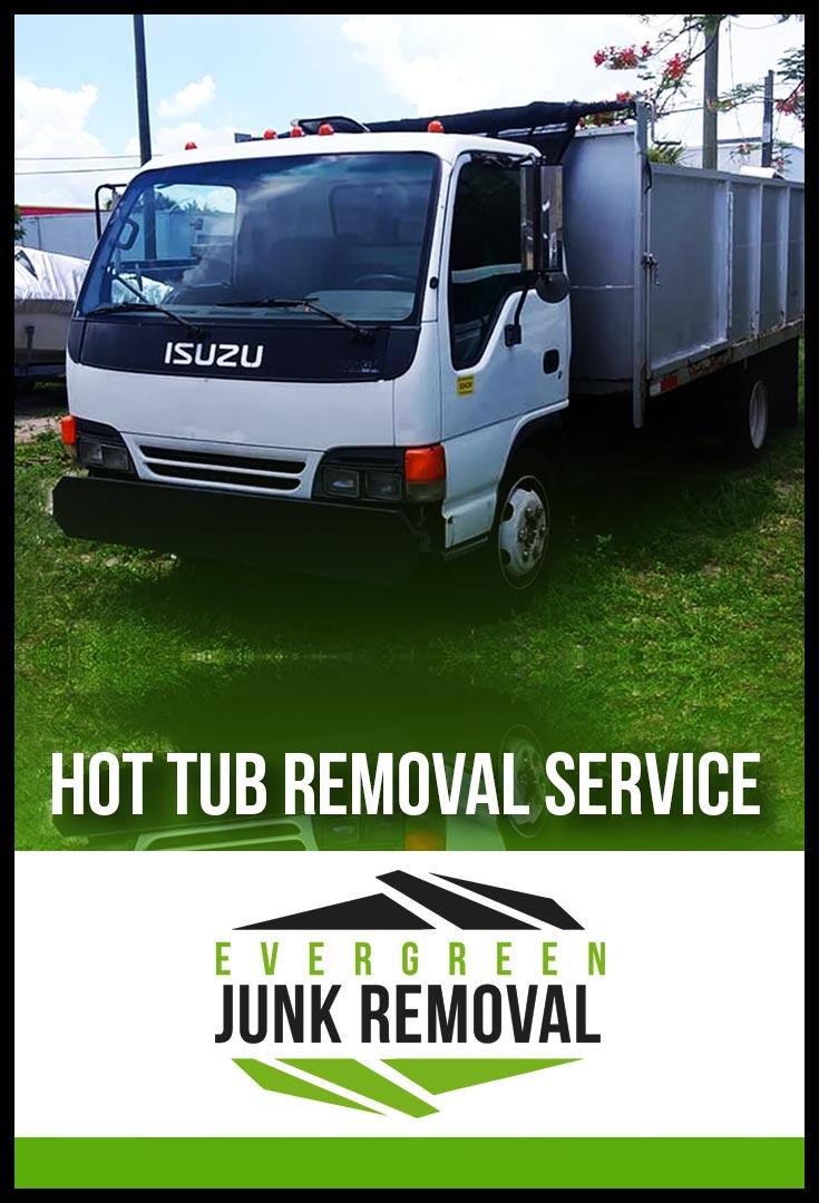 Cheval Hot Tub Removal
