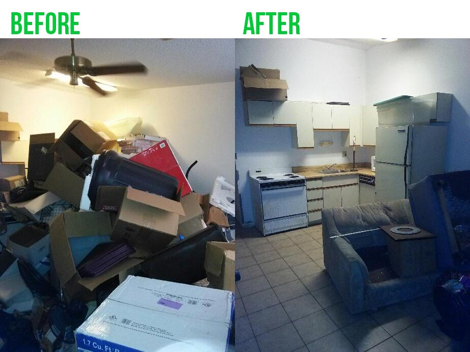 Dallas Hoarding Cleanup Service