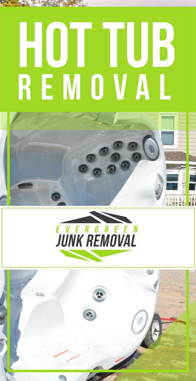 Hazelwood Hot Tub Removal