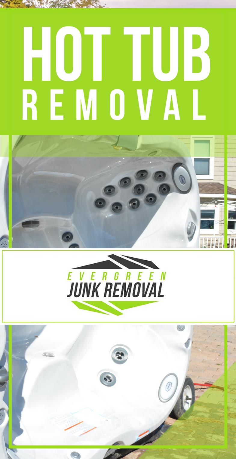 Kenmore Hot Tub Removal