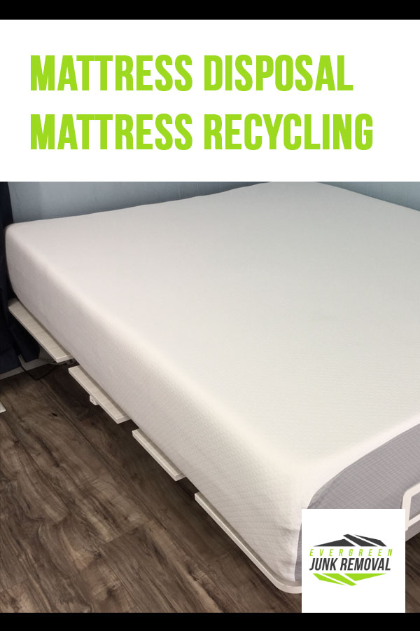 Mattress Disposal and Mattress Recycling