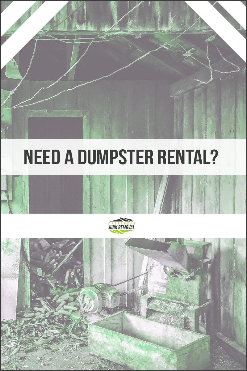 Roosevelt Garden Dumpster Rental Services