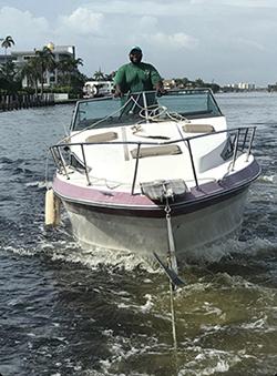 Hillsboro Pines Boat Removal