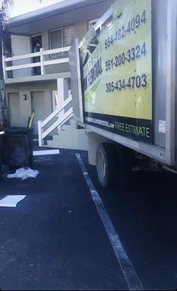 junk removal truck Coconut Creek