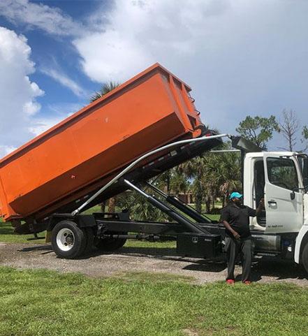 Palm Bay Dumpster Rental
