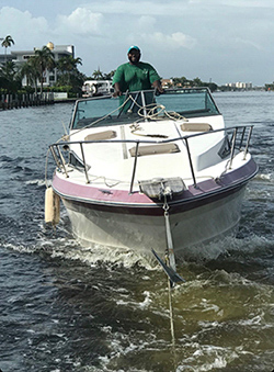 Boat removal service by Evergreen Junk Removal