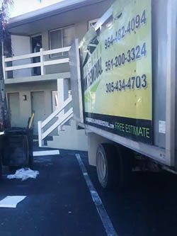 Junk Removal Truck Miami